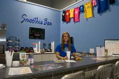 Emporia Fitness is serving up Dr. Smoothie's 100% Crushed Whole Fruit Smoothies. #smoothies #drsmoothie