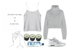 just be easy by wildl0ve on Polyvore featuring polyvore, fashion, style, Dion Lee and NIKE