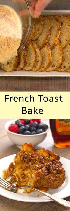 Amazing French Toast Casserole Bake
