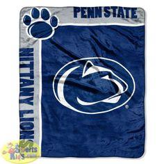 Northwest NCAA Penn State Nittany Lions School Spirit Raschel Throw