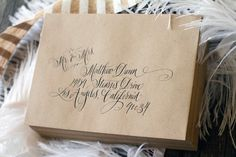 love the simplicity of this layout and the black ink on kraft paper.  by Kelle Anne McCarter of designsgirl