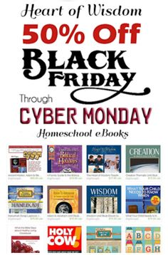 Black Friday Save 50% ANY Heart of Wisdom homeschool or Messianic eBook, lap book, digital scrapbook kit or clip art  https://www.etsy.com/shop/DigiScrapDelights?section_id=10614399