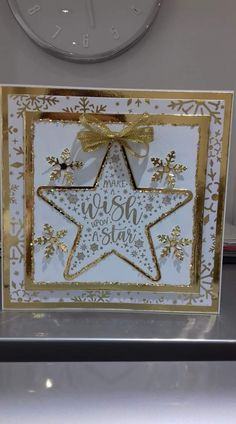 Chloes Creative Cards, Stamps By Chloe, Christmas Cards, Xmas, Star Cards, Christmas Inspiration, Decorative Boxes, Projects To Try, Card Making