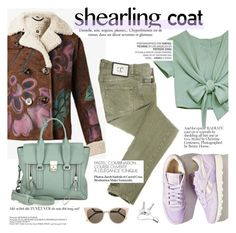 """Sweet Shearling Coats"" by punnky ❤ liked on Polyvore featuring Just Cavalli, Reebok, 3.1 Phillip Lim, Fendi, Georg Jensen and Vagabond"
