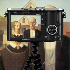 American-Gothic by Grant Wood by dica_imaging, via Flickr