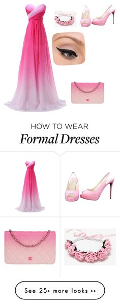"""Sem título #26"" by love-your-style-21 on Polyvore featuring мода, Christian Louboutin, Chanel и LORAC"