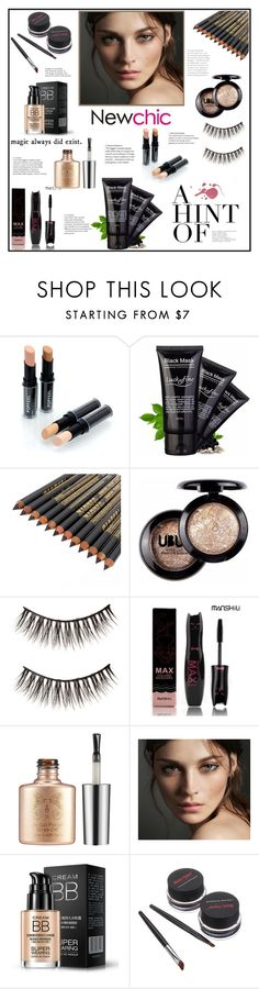 """""""NewChic 1 . 22.12.2016"""" by goharkhanoyan ❤ liked on Polyvore featuring beauty, Burberry and newchic"""
