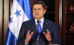"""El presidente de Honduras, Juan Orlando Hernández. JOH: """"Honduras es un país hostil para los terroristas"""" El presidente de Honduras, Juan Orlando Hernández, señaló que en las próximas horas se determinará el estatus legal de los sirios."""