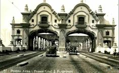 Postal Puente Alsina Buenos Aires s/f Old World, Old Things, Bs As, Sky, Mansions, Country, House Styles, Building, Travel