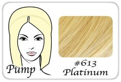 #613 Platinum Blonde Pro Pump - Tease With Ease