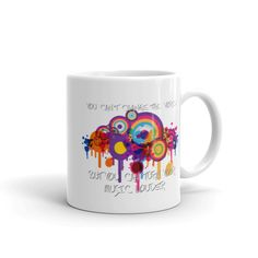 Can't Change The World - White Mug. Whether you're drinking your morning coffee, your evening tea, or something in between – this mug's for you! It's sturdy and Change The World, Morning Coffee, Cups, Make It Yourself, Canning, Tableware, Shop, Mugs, Dinnerware