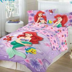 mermaid bedroom | Bedding: The Little Mermaid Bedding