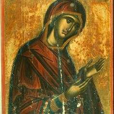 Virgin Hagiosoritissa · The Sinai Icon Collection Byzantine Icons, Byzantine Art, Religious Icons, Religious Art, Greek Icons, Russian Icons, Best Icons, Madonna And Child, Icon Collection