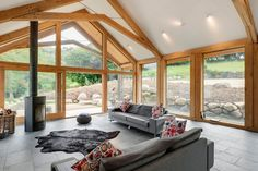 Nice Green Oak Extension Featured In Self Build Magazine April Details Green Oak  Extension Costs And Process. Oak Extensions From Carpenter Oak Ltd.
