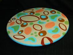 Hand Painted Wood Lazy Susan ObLaDi Beatles by AppleScruffArts, $69.95