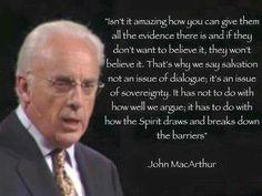 christian quotes | John MacArthur quotes | Gospel | God's sovereignty