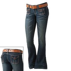 I love Mudd jeans....me too! :)  The best Jeans for a curvy booty!
