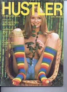 Hustler April 1975 with Lolita Hustler Magazine, Sodom And Gomorrah, Stock Keeping Unit, Gangster, Retro Futuristic, Old Magazines, Digital Magazine, Unisex, Single Image
