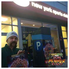 @NaturalVitamins #MonsterEvent gym #TakeOver !!! Best Gym, Natural Vitamins, Broadway Shows
