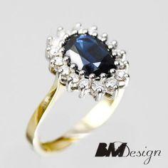 pierścionek zaręczynowy księżnej Diany Rzeszów BM Design BM Rzeszów