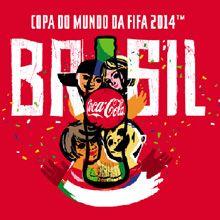A Coca-Cola revelou hoje o início de sua campanha publicitária para a Copa do Mundo que será realizada em 2014 no Brasil.