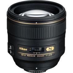 Nikon AF-S NIKKOR 85mm f/1.4G Classic Portrait Lens $1699.95 ... If I had a million dollars...