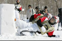 Counting Down to The Yukigassen Snow Battle in Alberta, Canada