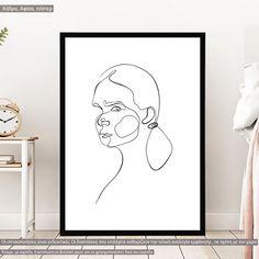 Eyes and figure V, αφίσα, κάδρο Line Art, Poster, Home Decor, Decoration Home, Room Decor, Line Drawings, Home Interior Design, Billboard, Home Decoration