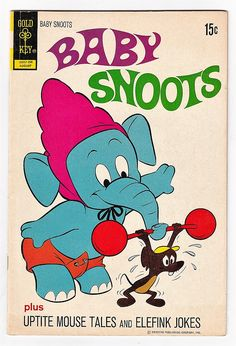Baby Snoots 9 FN Gold Key Comics Cartoon Theme Uptite Mouse