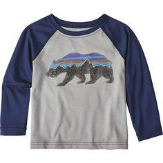 6b4f721b065 Patagonia - Capilene Silkweight Crew - Toddler Boys  - Drifter Grey Crew  Shirt