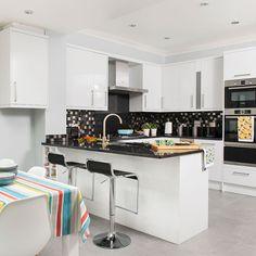 21 fantastiche immagini su Cucina Bianca Lucida   Kitchen interior ...