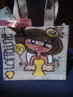 Lorraine Small Jute Bags, Lorraine, Lunch Box, Bento Box