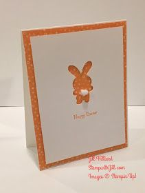 Jill's Card Creations: Super Simple Bunny!