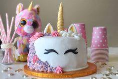 Gâteau Licorne au Thermomix,un joli gâteau en forme de tête de licorne, parfait à réaliser pour un anniversaire de fille.