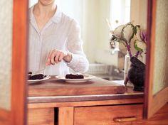 Blueberry Chocolate Torte Recipe - Viva