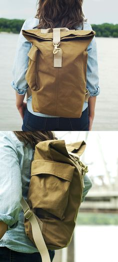 Day Bag - Canvas Backpack
