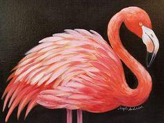 Free Flamingo Acryli
