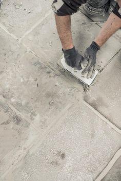 raw stones vloer leggen | www.twoonhuis.nl