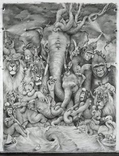 Pencil drawings - Adonna Khare