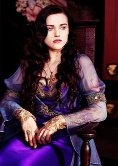 Morgana in my favorite gown of hers