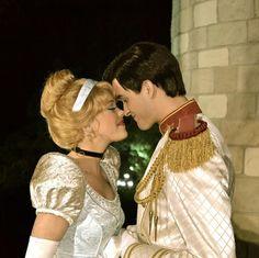cinderella and prince couple cotume Cinderella Prince, Cinderella And Prince Charming, Cinderella Costume, Disney Nerd, Disney Fan Art, Disney Love, Disneyland World, Walt Disney World, Disney Couples