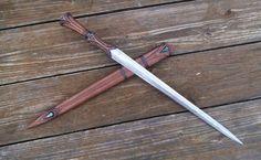 Jian inspired shortsword/dagger by Jake Cleland.