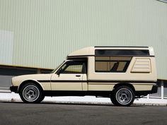4x4 Camper Van, Mini Camper, Truck Camper, 504 Pick Up, Peugeot 504, Automobile, Auto Retro, Shooting Brake, Van Camping