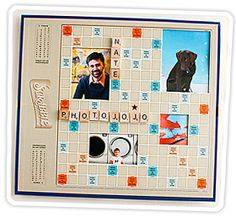 Game board picture frames...great for game rooms, kids rooms, and more