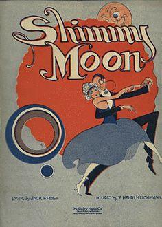 """Shimmy Moon"" sheet music"