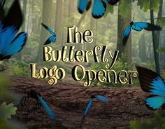 "Check out new work on my @Behance portfolio: ""Butterfly Logo Opener"" http://be.net/gallery/52547053/Butterfly-Logo-Opener"