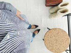 Stripes and heels for spring - Coco Sweet Dreams | Lily.fi