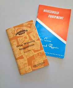 Vintage How-To Household Books Electronic Tips by ItsJustYouandMe