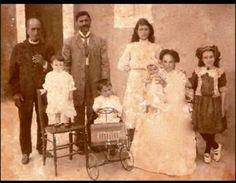 Familia puertoriqueña en el 1911.
