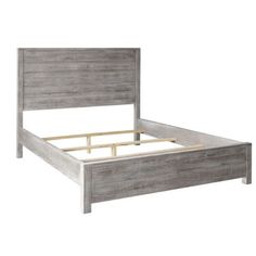 $600+ Looks great, headboard might be too tall, also sketch bc ebay though... Full-Size-Modern-Panel-Bed-Frame-With-Headboard-Bedroom-Collection-Furniture